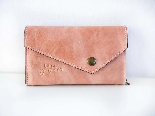 Joji & Co. IC Needle Wallet Pink