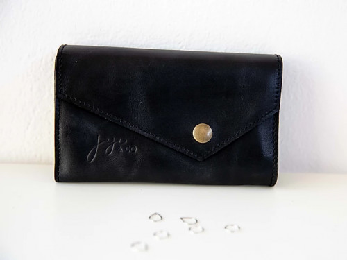Joji & Co. IC Needle Wallet Black