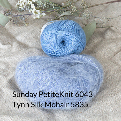 SUNDAY loves Tynn Silk Mohair