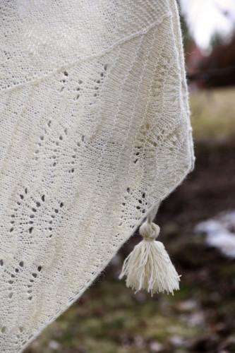 Onni shawl for Tukuwool Hakamaa Fingering!
