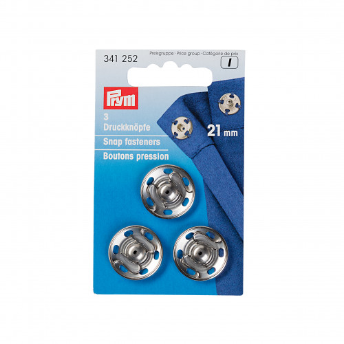 Snap fasteners  21mm