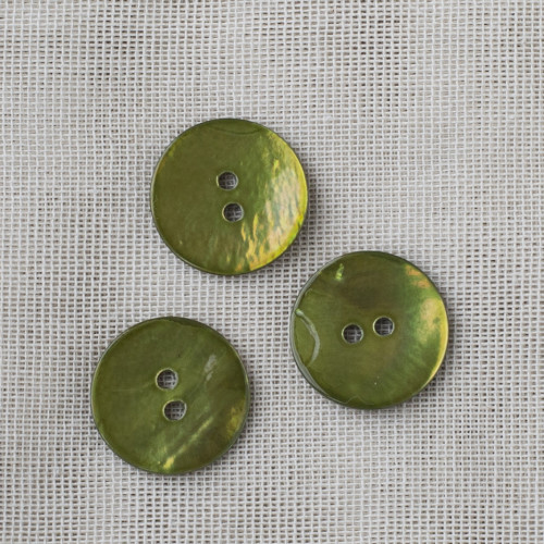 Agoya Button Round 20mm