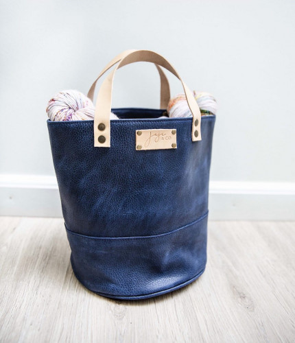 Joji & Co. PAMPA Bucket Bag Midnight Blue