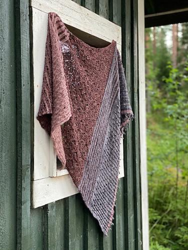 Toivola MKAL Shawl Knitting Pattern PDF
