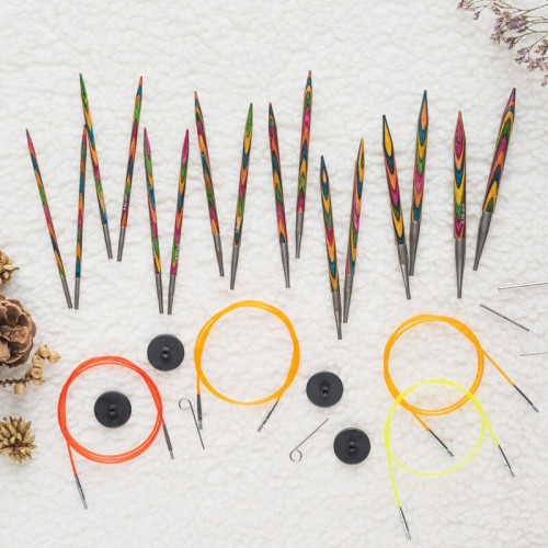 Symfonie Wood Interchangeable Circular Needle Set Deluxe