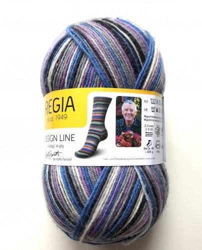 Regia 4-fädig Kaffe Fassett 100 g 3864 Zebra
