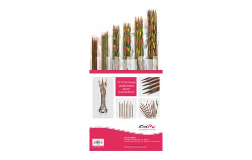 Symfonie Wood Double pointed 20 cm Sock Needle Set
