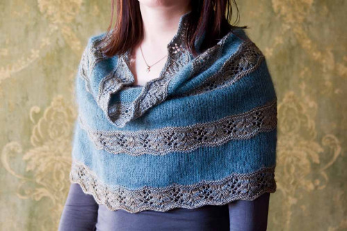 Seashore Cowl Knitting Pattern PDF EN
