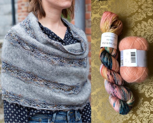 Seashore Cowl Yarn Set 7