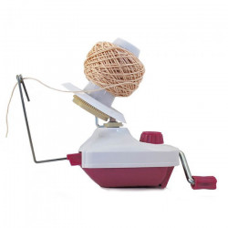 Opry Yarn Ball Winder Plastic red-white