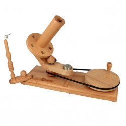 Scheepjes Ball Winder w. Table Clamp Naturel Wood