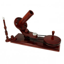 Scheepjes Ball Winder w. Table Clamp Dark Wood