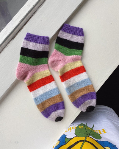 Everyday Socks by PetiteKnit -neuleohje EN