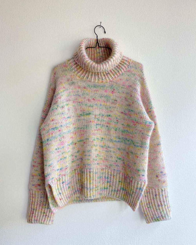 Wednesday Sweater by PetiteKnit -neuleohje EN