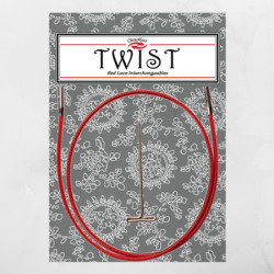 ChiaoGoo Twist Red Cable Large
