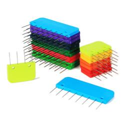 Knit Pro Knit Blockers Pingotuskammat sateenkaari