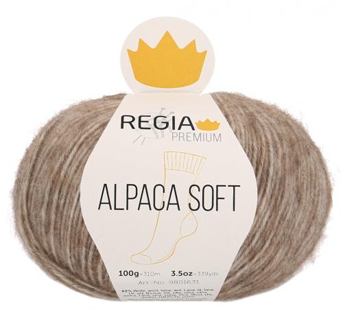 Regia Premium Alpaca Soft 020 camel meliert