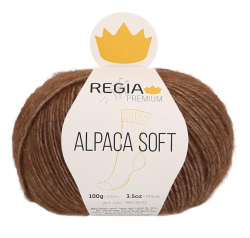 Regia Premium Alpaca Soft 025 toffee meliert