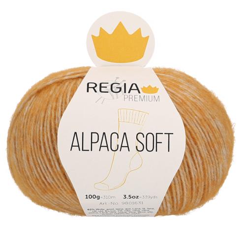 Regia Premium Alpaca Soft 040 gold meliert