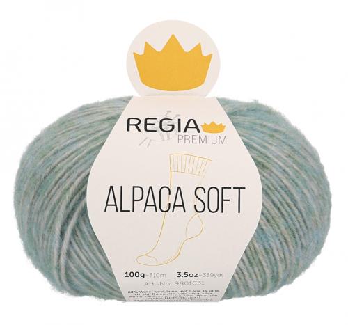Regia Premium Alpaca Soft 062 mint meliert