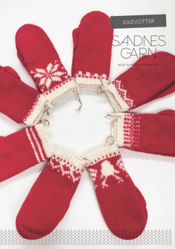 Christmas Mittens - Finnish pattern and yarns