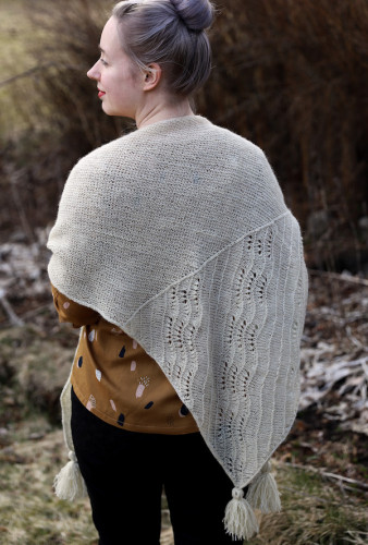 Onni Shawl Yarns + Finnish Pattern Print