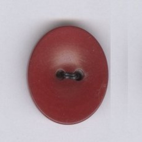 Stone Nut button oval