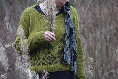 Pohjolan emäntä - new pattern for Tukuwool Fingering *