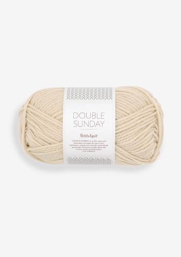 Sandnes Garn DOUBLE SUNDAY PetiteKnit 2511 Almond