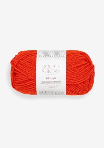 Sandnes Garn DOUBLE SUNDAY PetiteKnit 3819 That Orange Feeling