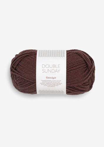 Sandnes Garn DOUBLE SUNDAY PetiteKnit 4081 Coffee Bean