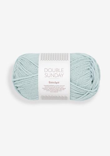Sandnes Garn DOUBLE SUNDAY PetiteKnit 5930 Pale Blue