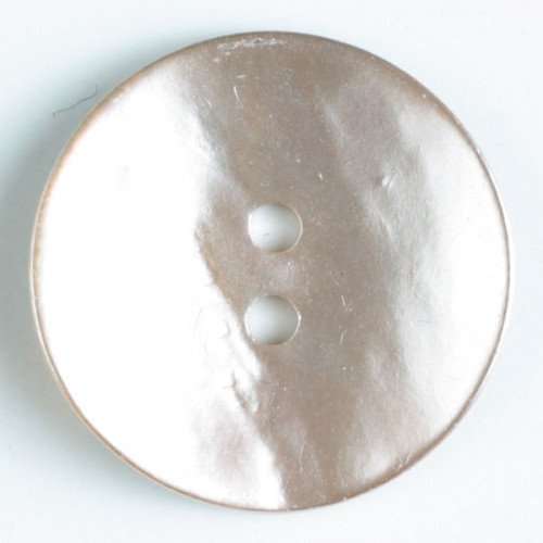 Pearl button 18 mm pink