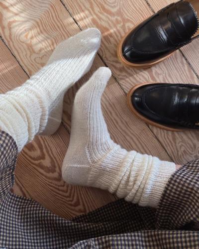 Penny Socks by PetiteKnit pattern English
