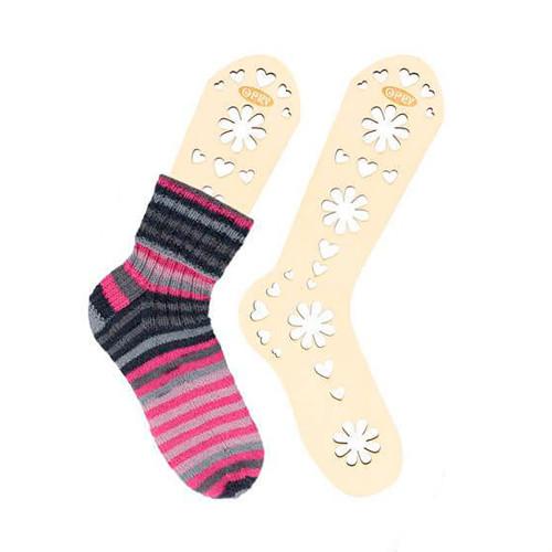 Opry sock blocker pari, natural wood, size M