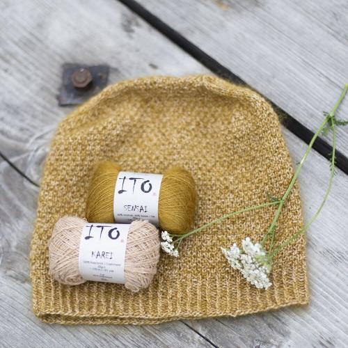 Glow Hat Knitting Pattern PDF English