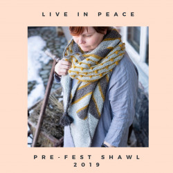 Live in Peace Shawl Pattern