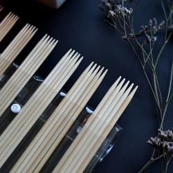 Knit Pro Bamboo Double Pointed 20cm Sock Needle Set