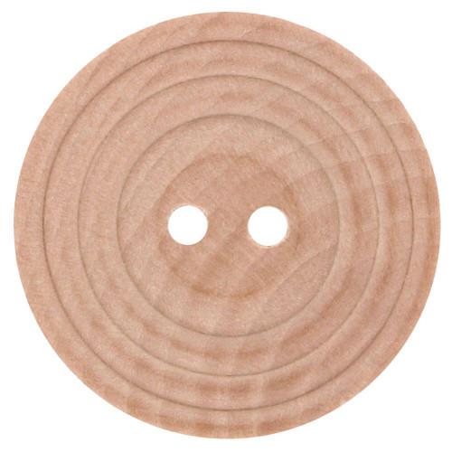 Wood button beige 20mm