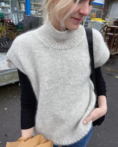 Weekend Slipover by PetiteKnit pattern English