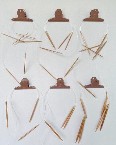"""Get Your Needles Organized"" - Pyöröpuikkoklipsi 6 kpl"
