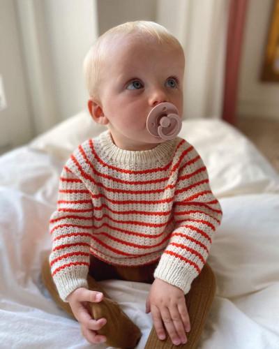 Friday Sweater BABY by PetiteKnit -neuleohje EN