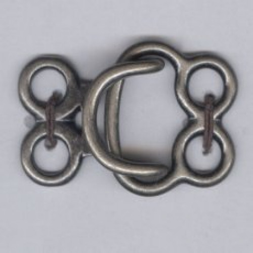 Hakanen 25 mm patinoitu hopea