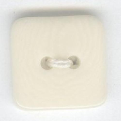 Kivipähkinänappi 18 mm neliö luonnonvalk.