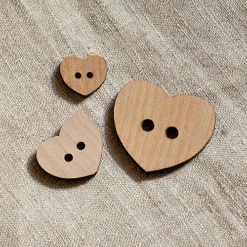 Puunappi, Veico 30 mm sydän