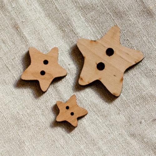 Puunappi,  Veico 45 mm tähti