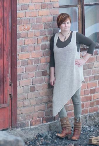 Hamppurötväke Dress Free Pattern Finnish