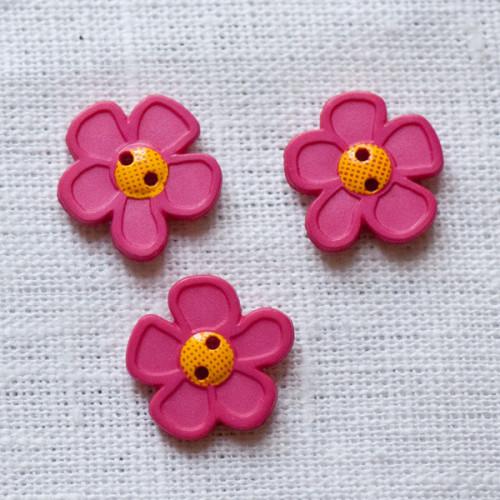 Flower Button 45mm