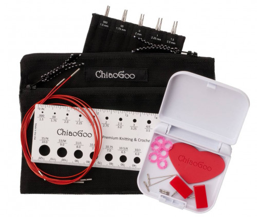 ChiaoGoo Twist RED Lace Mini Interchangeable Set