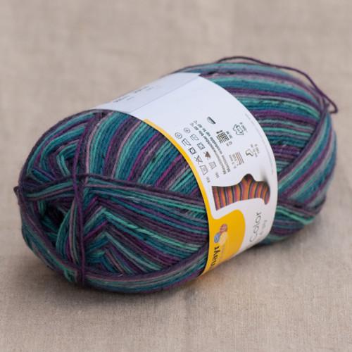 Regia 4-fädig Tweed Color 100 g